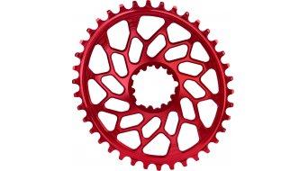 absolute Black XX1 Narrow Wide Cyclocross Spiderless plato óvalo 36 Zähne rojo(-a) para SRAM Spiderless bielas
