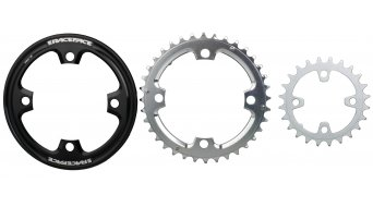 Race Face Chainring & Lightweight Bashguard set 9-vitesses black Mod. 2017