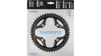 Shimano SLX 9-velocidades plato 48 Zähne para aro protector de cadenas negro(-a) FC-M660