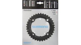 Shimano SLX 9 velocità corona catena 36 denti nero FC-M665