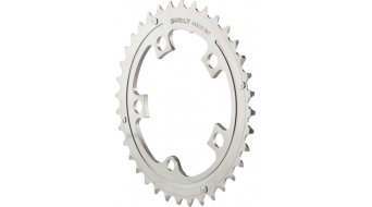 Surly OD Stainless Steel plato 36 dientes 94mm gris