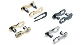 SRAM PowerLink cerradura de cadenas eslabón de cierre para todos(-as) SRAM 8-velocidades-cadena color plata de 1 unidades