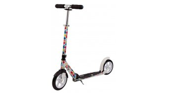 Micro White M&D Scooter floral multicolor