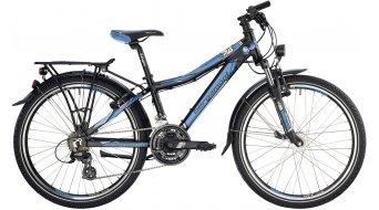 "Bergamont Bergamonster 24"" kids bike size 32cm black/cyan/white (matt) 2014"