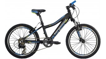 "Bergamont Team Junior 20"" kids bike size 28cm black/cyan/neon yellow (matt) 2014"