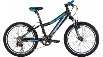 Bergamont Team Junior 20 Kinderrad Komplettbike Gr. 28cm black/cyan/neon yellow/white matt Mod. 2015