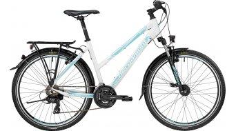 Bergamont Vitox ATB Lady 26 Jugend Komplettbike Damen-Rad Gr. 42cm white/coral blue (shiny) Mod. 2017