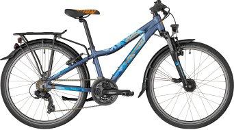 "Bergamont Revox ATB 24 24"" 儿童 整车 型号 32厘米 dark bluegrey/blue/橙色 (matt) 款型 2018"