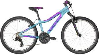 "Bergamont Revox 24 Girl 24"" 儿童 整车 型号 32厘米 coral blue/purple/violet (shiny) 款型 2018"
