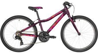 "Bergamont Revox 24 lite Girl 24"" 儿童 整车 型号 32厘米 violet/粉色/red (shiny) 款型 2018"