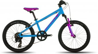 Ghost Powerkid 20 bici completa niños-rueda cyan/pink/negro Mod. 2016