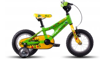Ghost Powerkid 12 bici completa bambini- ruota green/yellow/red mod. 2016