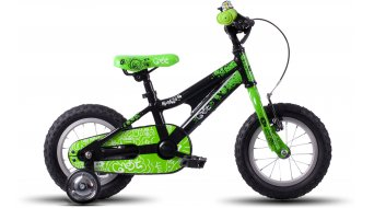 Ghost Powerkid 12 vélo enfants-roue black/green/white Mod. 2016