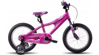 Ghost Powerkid 16 bici completa bambini- ruota pink/white/purple mod. 2016