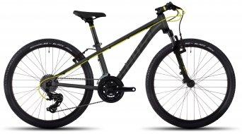 Ghost Kato 2 AL 24 Kinder-Rad Komplettrad Gr. unisize titanium gray/black/neon yellow Mod. 2017