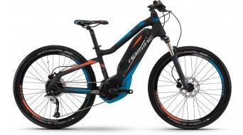 Haibike SDURO HardFour RX 24 MTB E-Bike Kinderrad Gr. 34cm schwarz/blau/rot matt Yamaha-Antrieb Mod. 2016
