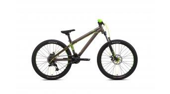 NS Bikes Clash JR 24 Komplettbike Gr. Unisize grey/green Mod. 2016