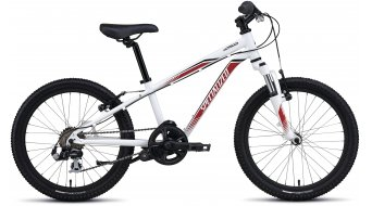 Specialized Hotrock 20 6-spd Boys MTB Komplettbike Kinder-Rad Gr. 22,9cm (9) white/red/black Mod. 2016