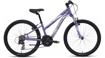 Specialized Hotrock 24 21-spd Girl MTB Komplettbike Kinder-Rad Gr. 27,9cm (11) purple/white Mod. 2016