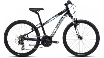 Specialized Hotrock 24 21-spd Boy MTB Komplettbike Kinder-Rad Gr. 27,9cm (11) black/white/cyan Mod. 2016