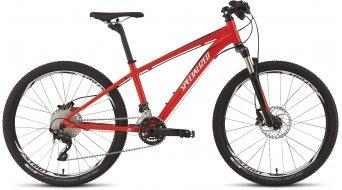 Specialized Hotrock 24 XC Pro Disc MTB Komplettbike Kinder-Rad Gr. 33cm (13) rocket red/black/white Mod. 2015