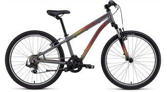 Specialized Hotrock 24 7-spd 24 MTB Komplettbike Kinder-Rad Gr. 27,9cm (11) charcoal/red-yellow fade Mod. 2016