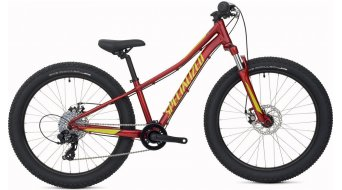 Specialized Riprock 24 6Fattie MTB Komplettbike Kinderrad Gr. 27,9cm (11) candy red/hyper/black Mod. 2016