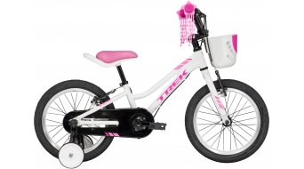 Trek Precaliber 16 Girls bicleta para niños bici completa tamaño unisize crystal blanco Mod. 2017