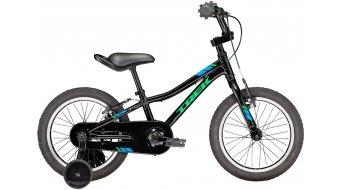 "Trek Precaliber 16 Boys 16"" 儿童运动单车 整车 型号 40.6厘米 (16"") Trek black 款型 2018"