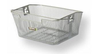 Basil Capri rueda trasera-cesta color plata