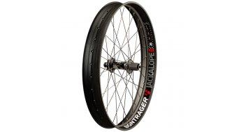 Bontrager Jackalope Disc 26 Fatbike rueda completa rueda trasera 170/177mm Tubeless Ready negro