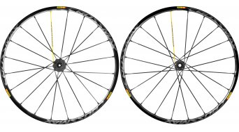 Mavic Crossmax SL Pro 29 Disc set ruote ant+post (9/15x100mm & 9/12x135/142mm) attacco 6 fori black mod. 2016