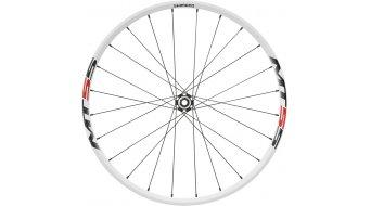 Shimano WH-MT55 26 MTB Disc juego de ruedas Clincher Centerlock blanco(-a) (rueda delantera:15mm-E-Thru/rueda trasera:QR-135mm)