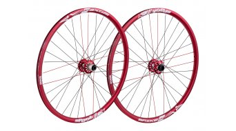 "Spank Spike Race EVO 28 Disc 26"" Laufradsatz (VR: 20x110mm/HR: inkl. Adapter"