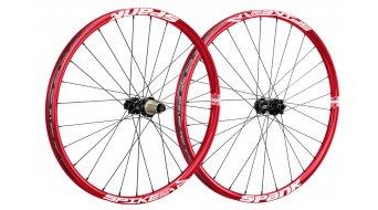 Spank Spike Race Enduro Disc 26 juego de ruedas (rueda delantera: 15+20mm/rueda trasera: QR+12x142mm) rojo