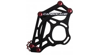 Carbocage FR Carbon Kettenführung ISCG05 34-38T red