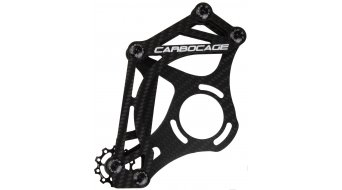 Carbocage FR Carbon Kettenführung ISCG 34-38T black