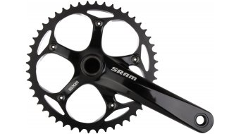 SRAM S300 Courier crank set 175mm 48 tooth black shining (incl. GXP bottom bracket ) 2013
