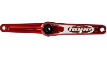 Hope Fatbike biela 30mm-eje 120mm (sin Spider & plato & rodamiento/casquillo pedalier)