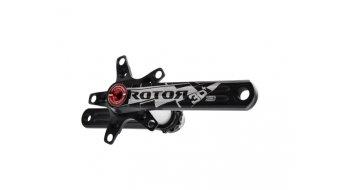 ROTOR 3D+ XC2 2x9/10 MTB-biela 172,5mm (110/74) negro(-a)
