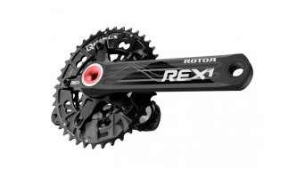 ROTOR REX 1.2 2x9/10 MTB- guarnitura 170mm XC2 (110/60) nero