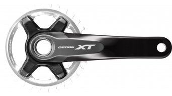 Shimano XT FC-M8000-B1 1x11 Boost biela sin plato 11-velocidades