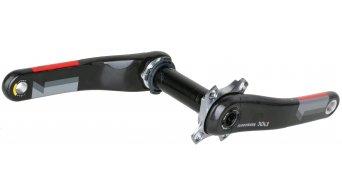 SRAM XX1 juego de bielas 175mm 11-velocidades círculo de agujeros: 76mm Q-Faktor 156mm (sin BB30 rodamiento/casquillo pedalier) Mod. 2014 (RETAIL-embalaje)