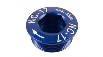 NC-17 Hollow II guarnitura vite blu M20x1