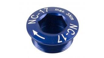 NC-17 Hollow II tornillo para bielas azul M20x1