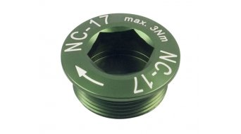 NC-17 Hollow II guarnitura vite verde M20x1