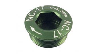 NC-17 Hollow II tornillo para bielas verde M20x1
