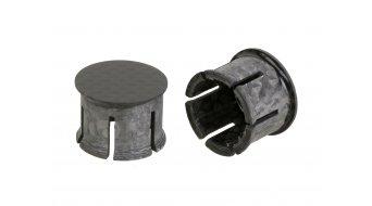 Schmolke MTB Carbon tapones de manillar negro 21mm