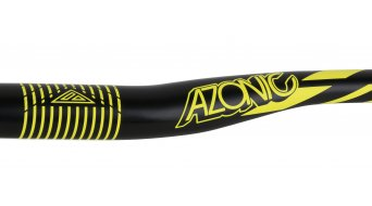 Azonic World Force FAT 35 manillar 35.0x750mm 18mm-rise negro/color neón amarillo Mod. 2016