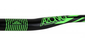 Azonic World Force FAT 35 manillar 35.0x750mm 18mm-rise negro/color neón verde Mod. 2016